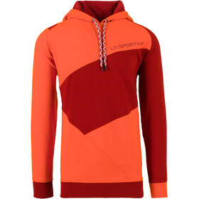 La Sportiva Magic Wood - Midlayer Hombre - naranja/rojo